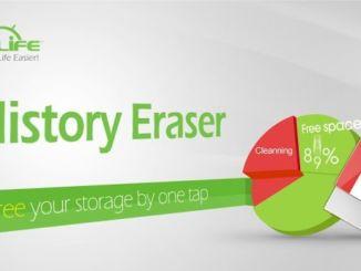 History Eraser, come cancellare le tracce dal cellulare