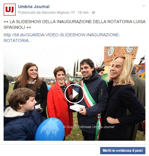 incorporare video facebook su wordpress